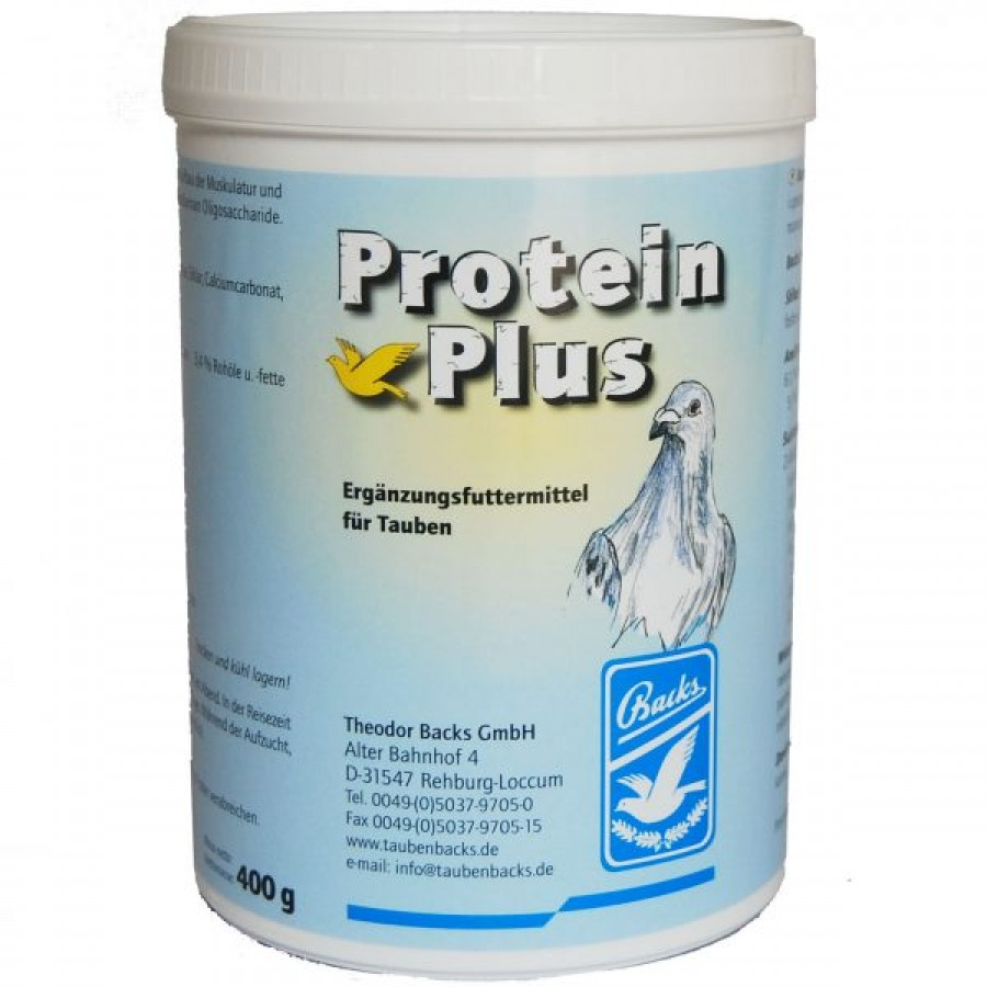 BACKS PROTEIN PLUS   - 40